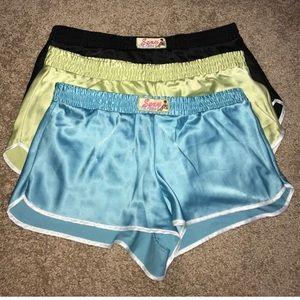 Victoria's Secret Intimates & Sleepwear - 3 pairs Victoria's Secret satin shorts.